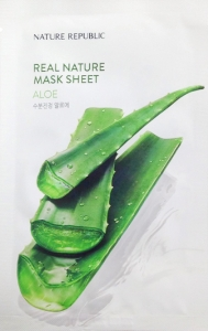NATURE REPUBLIC~Тканевая маска с алоэ~Real Nature Mask Sheet
