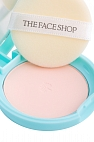 THE FACE SHOP~Компактная матирующая пудра~SPF30 PA++ Oil Clear Sheer Pink Mattifying Powder SPF30 PA